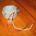Photocell and mounting box